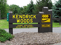 Kendricks Woods Sign