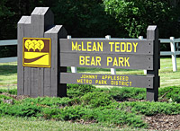 Teddybear Sign