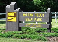 Teddybear Sign